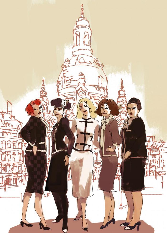 Plakat Zonenfrauen