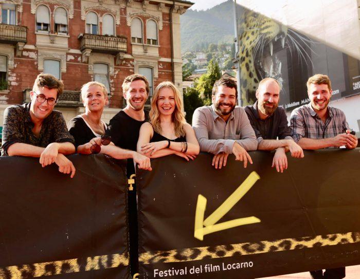 das Team zur Locarno-Weltpremiere