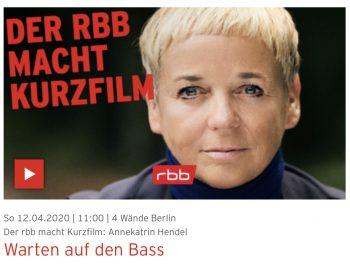 Warten auf den Bass -Kurzfilm von Annekatrin Hendel für den rbb